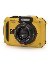 KODAK PIXPRO WPZ2 Rugged Waterproof Digital Camera 16MP 4X Zoom Full HD, Yellow
