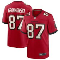 Brand New 2020 NFL Nike Tampa Bay Buccaneers Rob Gronkowski Game Edition Jersey