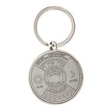 HU Porte-cles en metal Porte-cles Calendrier perpetuel motif