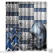 Personalized Dallas Cowboys Football 60 x 72 Inch shower curtains Bath