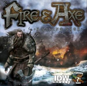 Fire and Axe - A Viking Saga Board Game