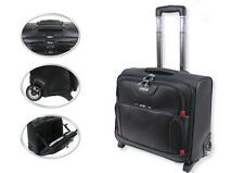 Wheeled Laptop Briefcase Business Office Bag Trolley Case Travel Cabin Bag 801