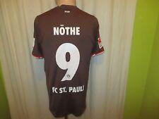 FC St.Pauli Original DoYou Football Matchworn Trikot 2013/14 + Nr.9 Nöthe Gr.S