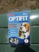 Halti Dog Headcollar OptiFit Black Medium Post