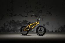 WEST KINK 2018 CARVE 16 YELLOW BMX BICYCLE BMX BIKE BMX FREESTYLE BMX STREET