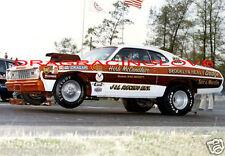 "Herb McCandless 1973 ""Sox & Martin"" Built Plymouth Duster Pro Stocker PHOTO!"