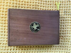 Vintage Manikin Cedar Cigar Box