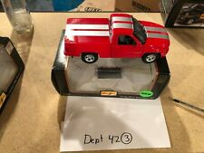 Maisto 1997 Dodge Ram Supersport 1997 Car SS/T Scale 1/26 Red with Silver Stripe