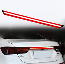 Red Rear Door Trunk LED Tail Light Cover For Kia Forte K3 2019 2020 Accessories