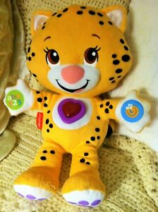 Fisher Price TIGER-CAT ABC Talking Musical Toy Interactive 2014 almost MINT RARE