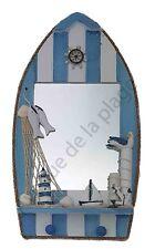 Miroir en forme de barque achat/vente décoration marine originale neuf