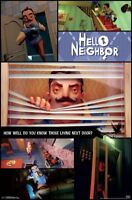 HELLO NEIGHBOR - COLLAGE POSTER - 22x34 - VIDEO GAME 16168
