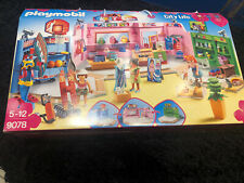 Playmobil City Life 9078 Einkaufspassage Shopping Center In OVP