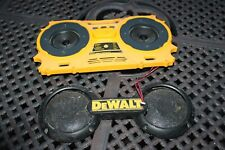 Dewalt Radio DC011 Speakers and Front Grille Grill Assembly PART