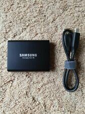 Samsung T5 1TB Portable External SSD - Black