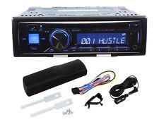 Alpine CDE-143BT Single Din Car CD Receiver with Advanced Bluetooth, USB, iPod