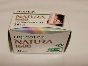 Fujifilm Natura 1600 High Speed Color Film - New In Box - Freezer Stored! Rare!