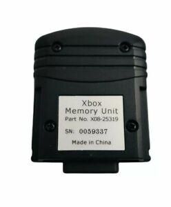 Original OEM Microsoft Xbox Memory Unit Model X08-25319