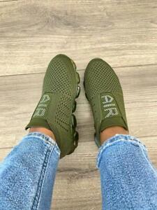 Womens Walking Shoes Slip-on Sock Sneakers Keidi 3097