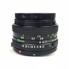 Canon FD 50mm F/1.8 Lens Stock Lens for Canon AE-1 AE-1 Program AT-1 AV1 A-1