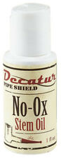 Decatur Pipe Shield No-Ox Stem Oil Protects Vulcanite Stems - 1751