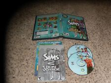 The Sims 2 Bon Voyage Expansion Pack (PC, 2007) Near Mint