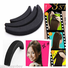 3Pc Bumpits Hair Lifters Volumizing Inserts Hair Fringe Styling Beauty Set Tool