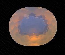 TOP : Echter Weißer Feuer Opal 10,61 Ct VVS Reinheit mit Orange Flash aus Mexiko