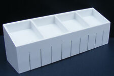 1:12 Scale White Shop Display Counter Dolls House Market Furniture Accessory 54w