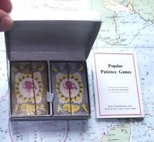 Twin Box 1920 Orient Line Small Playing Cards & Book