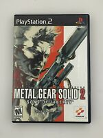 Metal Gear Solid 2: Sons of Liberty - Playstation 2 PS2 Game - Complete & Tested
