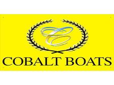 vn2034 Cobalt Boat for Advertising Display Banner Sign