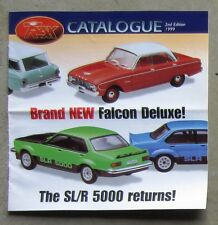 TRAX CATALOGUE 1999 Brochure DieCast 1/43 TORANA SLR 5000 V8 MONARO FJ FALCON XK