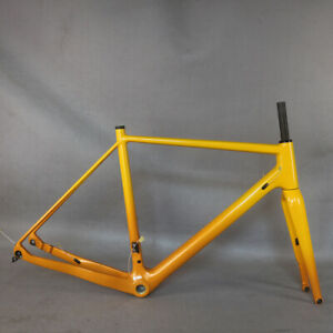 NEW cyclocross carbon frame  Di2 Gravel bicycle bike 700*42C YS7951+YS7953 GR029