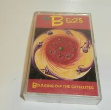 THE B-52'S BOUNCING OFF THE SATELLITES 1986 CASSETTE TAPE