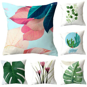 Outdoor Cushions Garden Water Resistant Fabric Floral Filled Cushion Pad