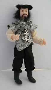 Dolls House Miniature Tudor Knave 1-12TH Scale