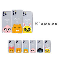 Official KAKAO FRIENDS Peekaboo Clear Jelly Phone Case  For iPhone 11 Galaxy LG