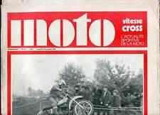 HEBDOMADAIRE MOTO VITESSE CROSS N°12. 1970.