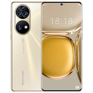 New 7.3 inch HAUWEI P50 PRO Smartphone 5G 16GB+1TB 6800mAh 64MP Camera Unlocked