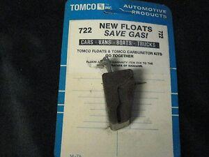 NOS Tomco 722 Holley 2 Bbl Carburetor Float