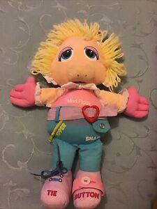 Vintage 1985 Cromer Toys Baby Miss Piggy Activity Doll