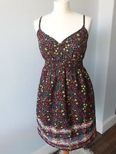 V by Very Ditsy Floral Strappy Dress Size 10 Holidays Summer Festival Flowers