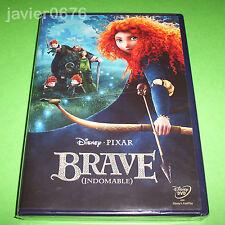 BRAVE INDOMABLE DISNEY PIXAR DVD NUEVO Y PRECINTADO
