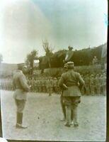 NEGATIVA FOTOGRAFICA 1940ca MILITARI REGIO ESERCITO IN ALBANIA