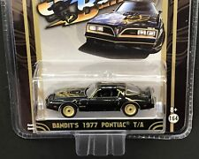 GREENLIGHT Smokey and The Bandit *Bandit's 1977 Pontiac T/A* 1:64 Black