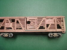 Weathered abandoned distressed Nyc Stock car Varney 1/87 Ho scale model train