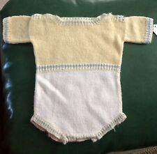 Lot Of 7 Vintage 1950's Baby Clothes Wool & Crochet