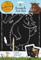 The Gruffalo Engraving Scratch Art Activity Set and Tool with 2 x Pictures 3086