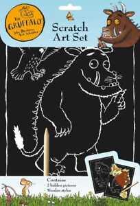 The Gruffalo Gravur Scratch Art Activity Set Und Werkzeug Mit 2 X Bilder 3086